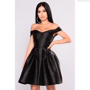 Fashion Nova Wonderful Life Black Mini Dress